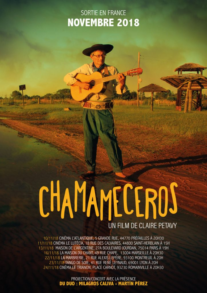 chamameceros un documentaire de Claire Petavy